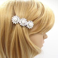 veryshine.com claw/banana/barrette flower pearl rhinestone small hair barrette cute women hair accessory