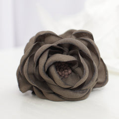 veryshine.com claw/banana/barrette Handmade Peony Root motivated Stamen Pistil Flower Hair Jaw Claw Clip