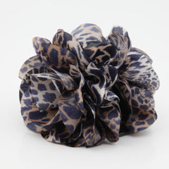 veryshine.com claw/banana/barrette Handmade Tiger Rose Fabric Twin Flower  Hair Jaw Claw Clip Accessories