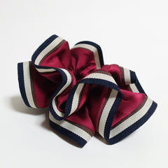 veryshine.com scrunchies/hair holder Stripe edge Satin Hair Elastic Ties Scrunchies