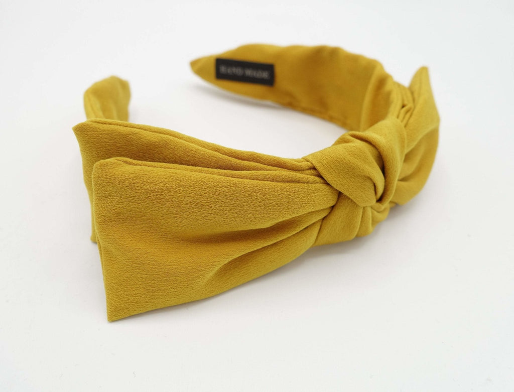 VeryShine layered bow headband wired bow hairband for women