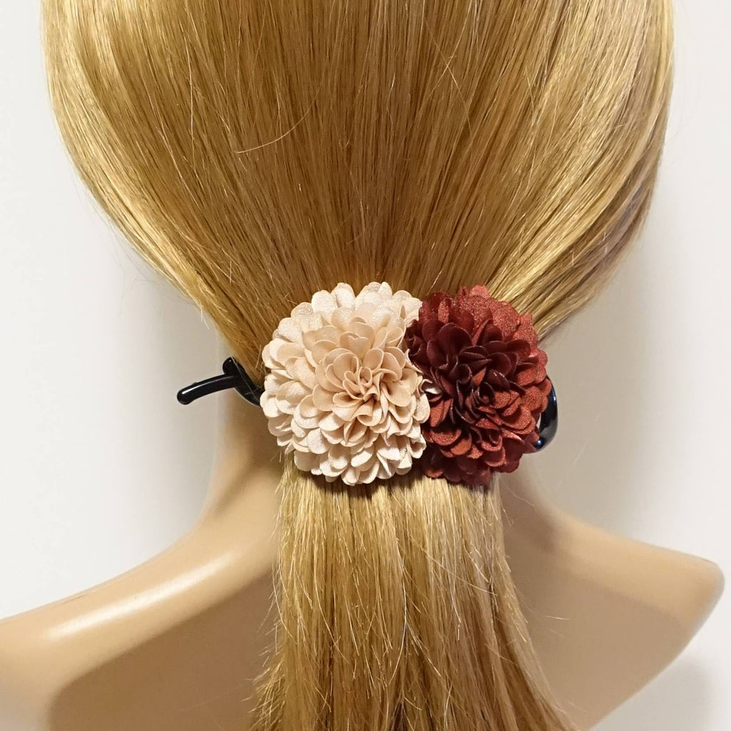 VeryShine Two Chrysanthemum  Flower Decorated Hair Clip Women Hair Accessory