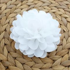 VeryShine White Flower Hair Clip Corsage Wedding Bride Hair Clip Multi Functional Flower Accessory Collection 2