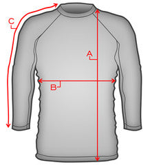 Gracie rash guard sizing