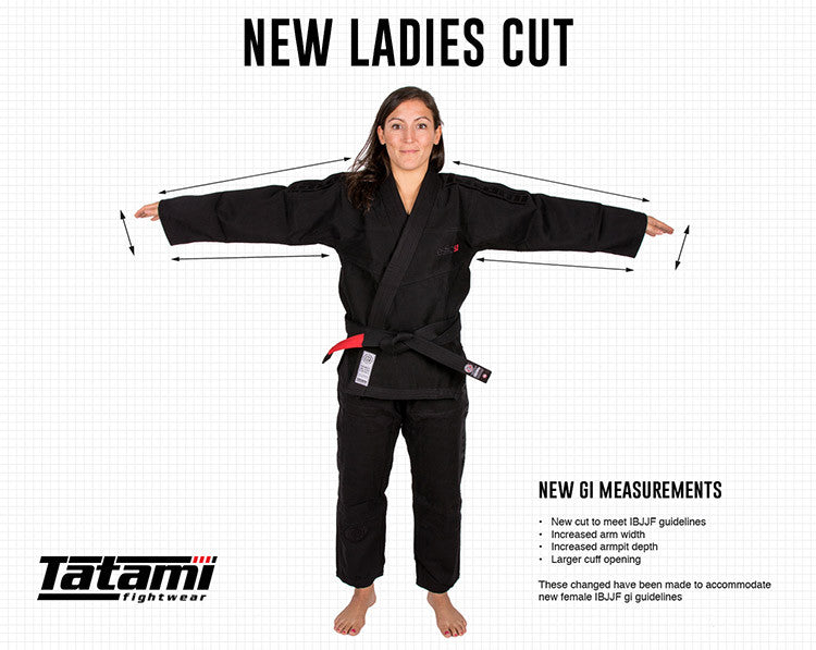 Tatami Ladies BJJ Gi Cut