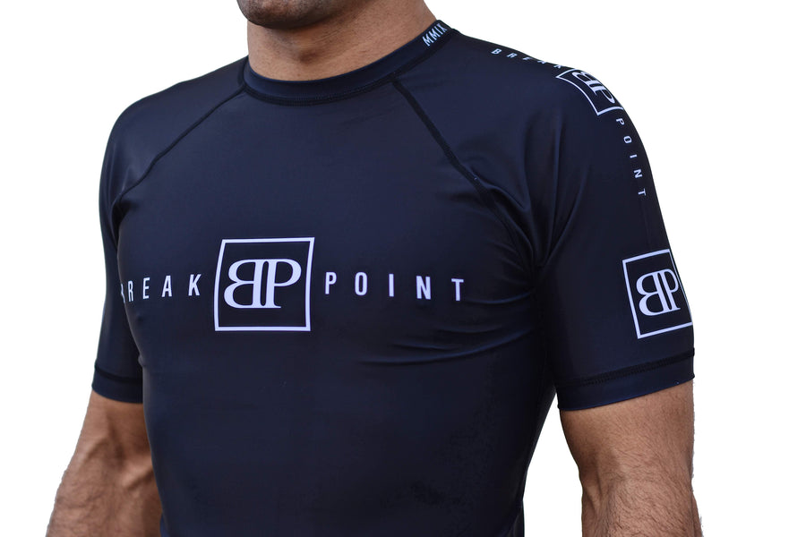 Break Point ''Classic Black'' - Rash Guard