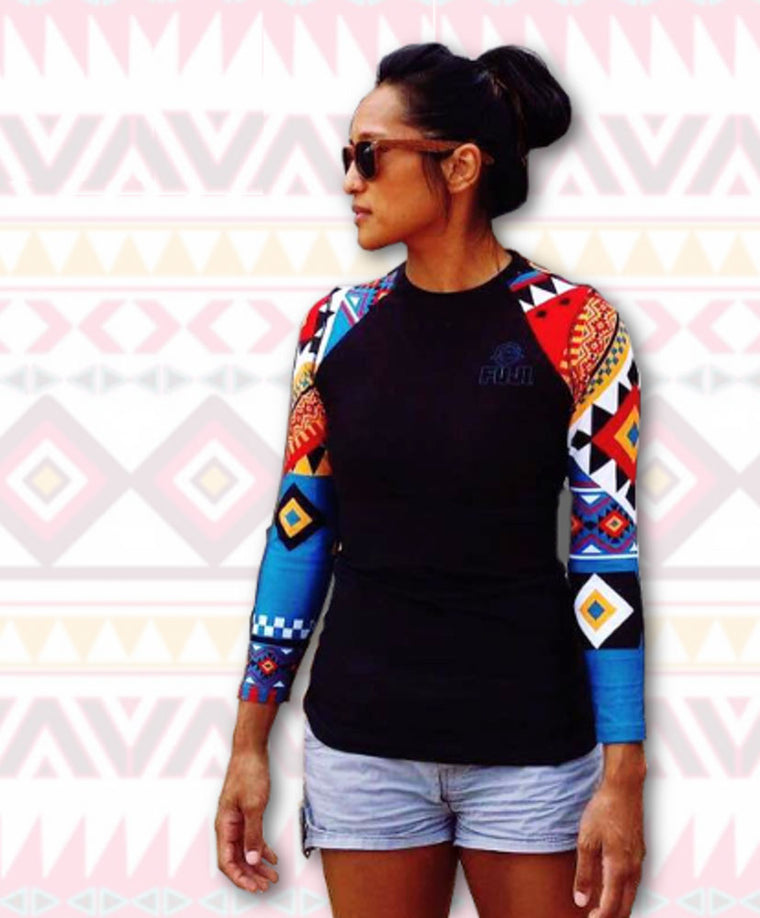 Fuji Sports: Tribal Women's Rashguard | Long Sleeve