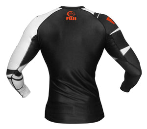 FUJI Sports: Freestyle IBJJF Ranked Rashguard - Black | Long Sleeve
