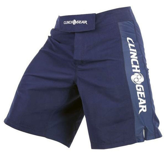 Clinch Gear Pro Series Short Color Navy/White Side View