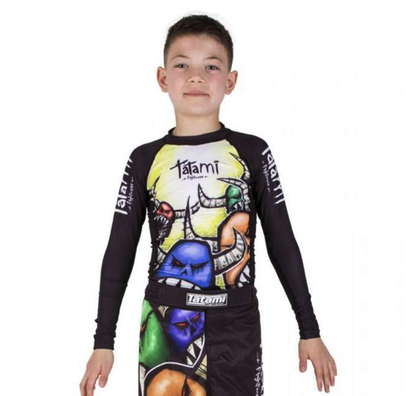 Tatami Monster Kids Grappling Rashguard
