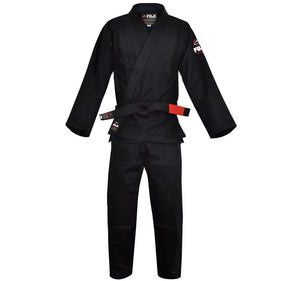 Fuji All Around BJJ Gi Color Black Front View