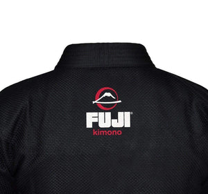Fuji All Around BJJ Gi Color Black Upper Back View