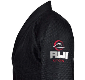 Fuji All Around BJJ Gi Color Black Left Shoulder View