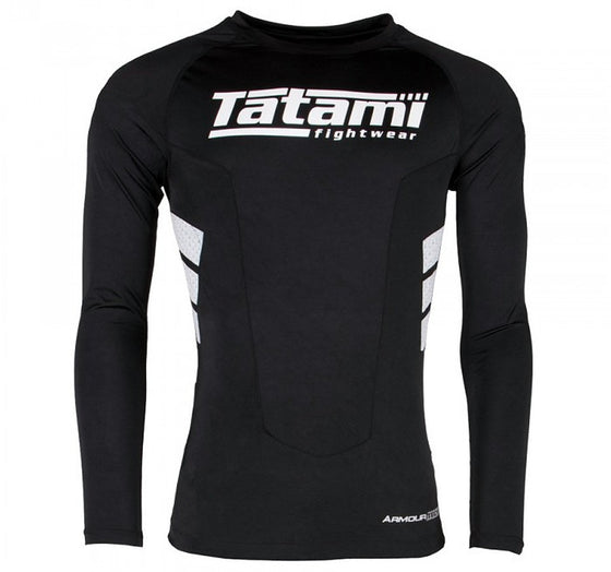 Tatami Armourtech Long Sleeve Rash Guard - Front