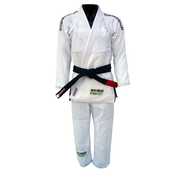 Submission Fight Co. Bamboo Frenzy Gi Front View