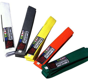 Break Point Kids Jiu Jitsu Belts Various Colors