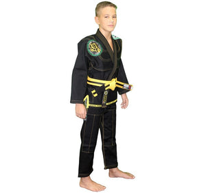 Break Point BTS Light Weight Deluxe Kids Gi Color Black Right Side View