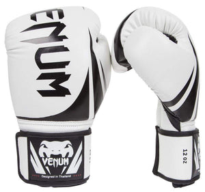 Venum Challenger 2.0 Boxing Gloves Color Ice Front and Side View