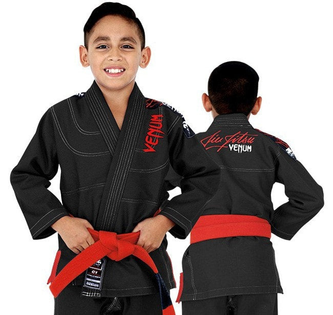 Venum Challenger 2.0 Kids BJJ Gi Color Black