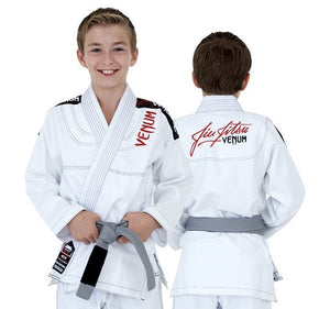 Venum Challenger 2.0 Kids BJJ Gi Color White