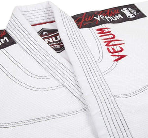 Venum Challenger 2.0 Kids BJJ Gi Color White Jacket Stitching