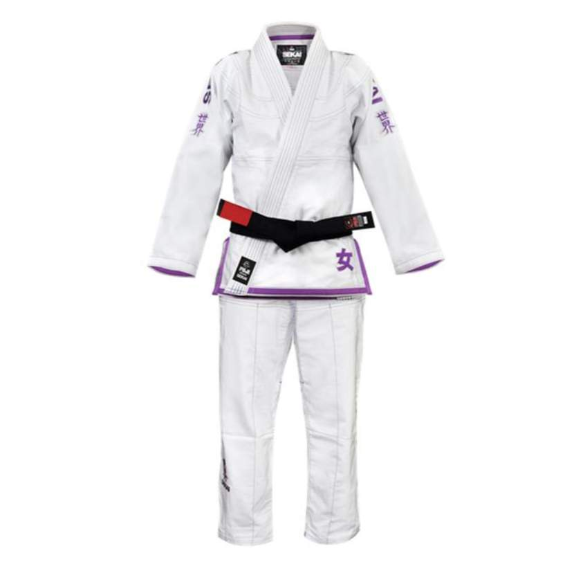 Fuji Sports Sekai Women's BJJ Gi - Purple