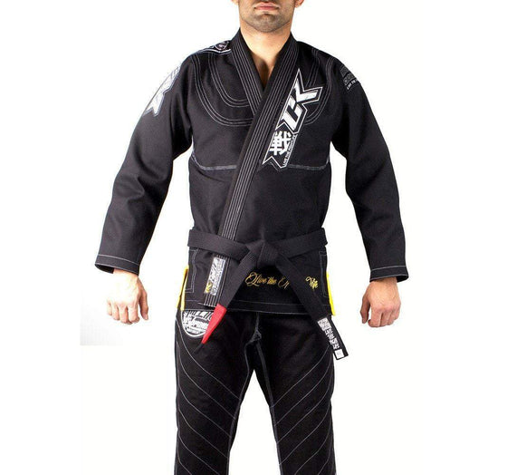 Contract Killer Discipline Gi Black Front