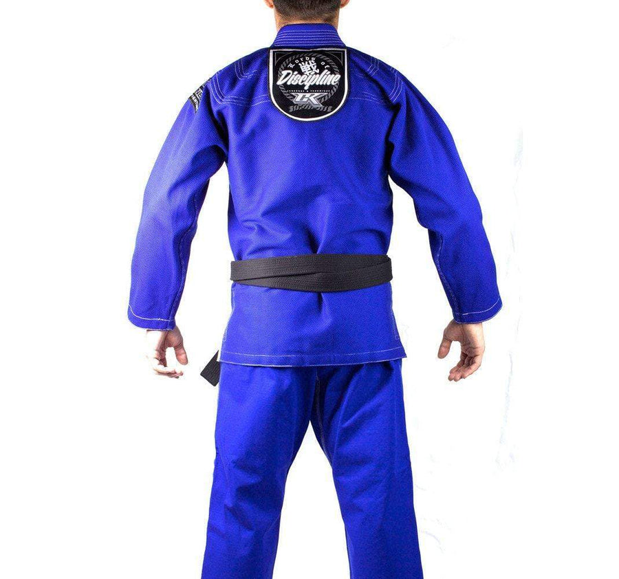 Contract Killer Discipline Gi Blue Right Side