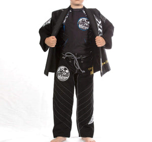 Contract Killer Discipline Kids Gi - Black - Front 2