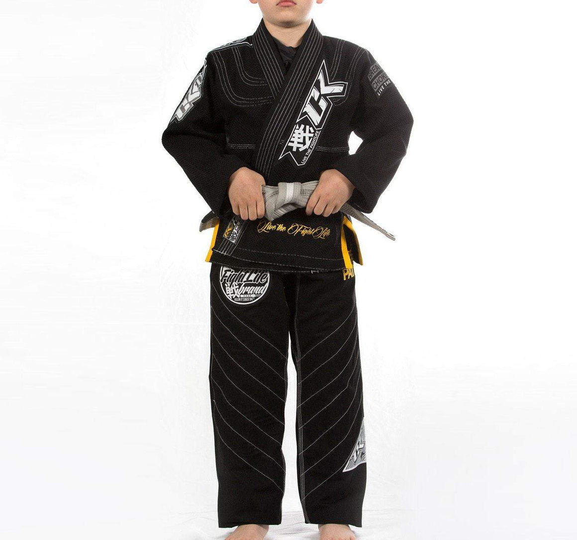 Contract Killer Discipline Kids Gi - Black - Front