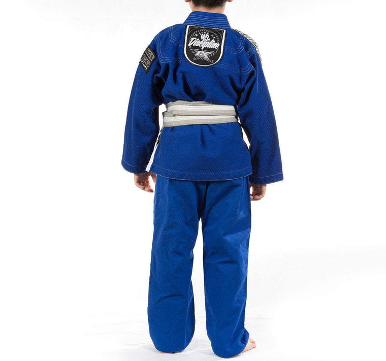 Contract Killer Discipline Kids Gi - Blue - Front
