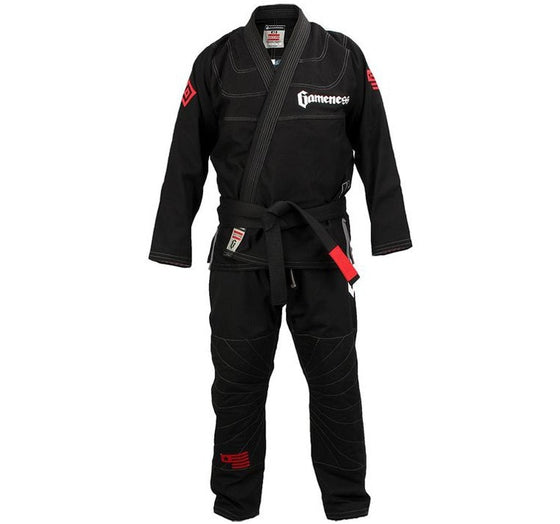 Gameness Elite 2015 Gi Color Black Front View