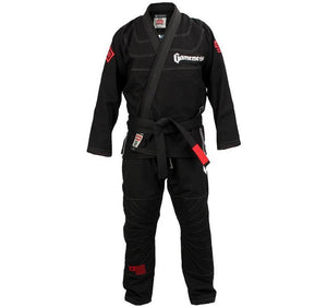 Gameness Elite 2015 Gi Color Black Front View 2