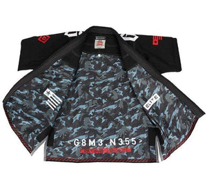 Gameness Elite 2015 Gi Color Black Inside Jacket View