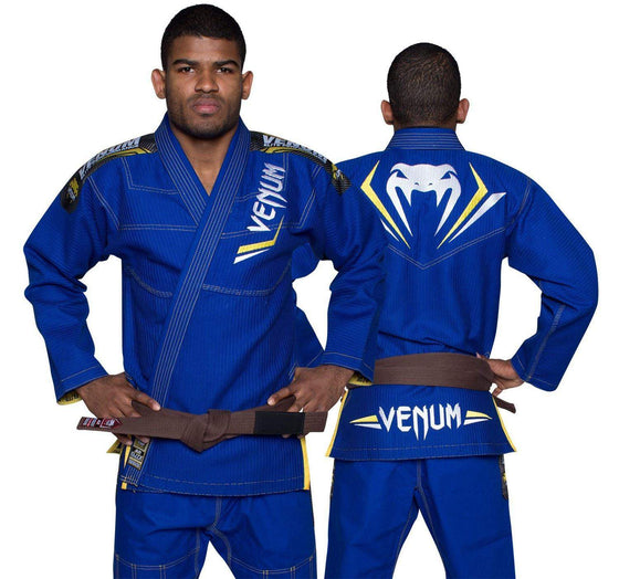 Venum Elite BJJ Gi - Royal Blue/Yellow