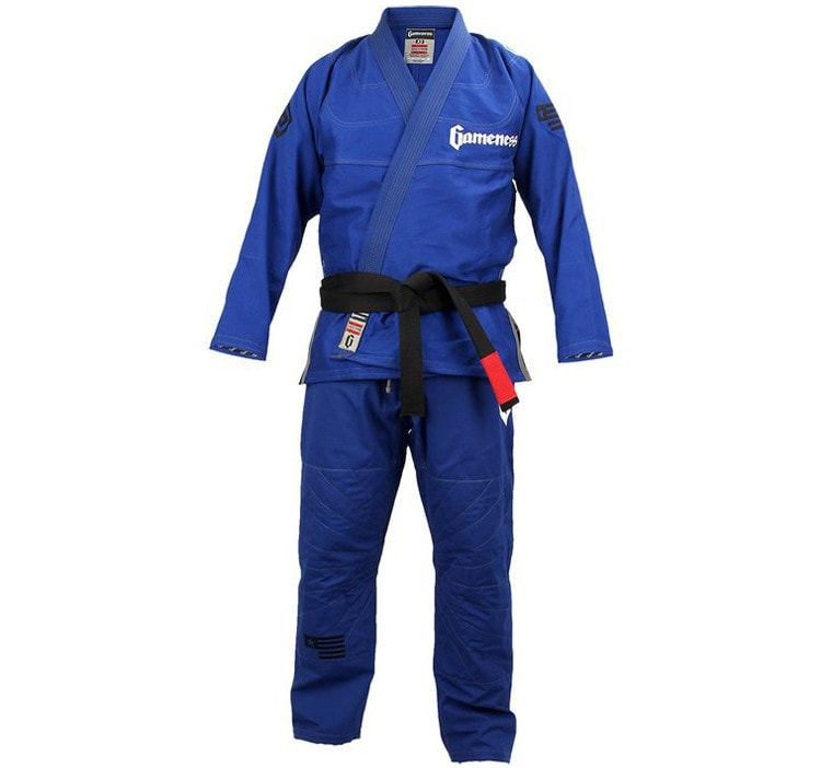 Gameness Elite 2015 Gi Color Blue Front View