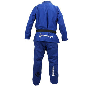 Gameness Elite 2015 Gi Color Blue Rear View