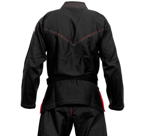 Venum Elite Light BJJ Gi - Black - Back