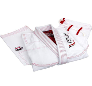 Venum Elite Light BJJ Gi - White - Jacket and Pants