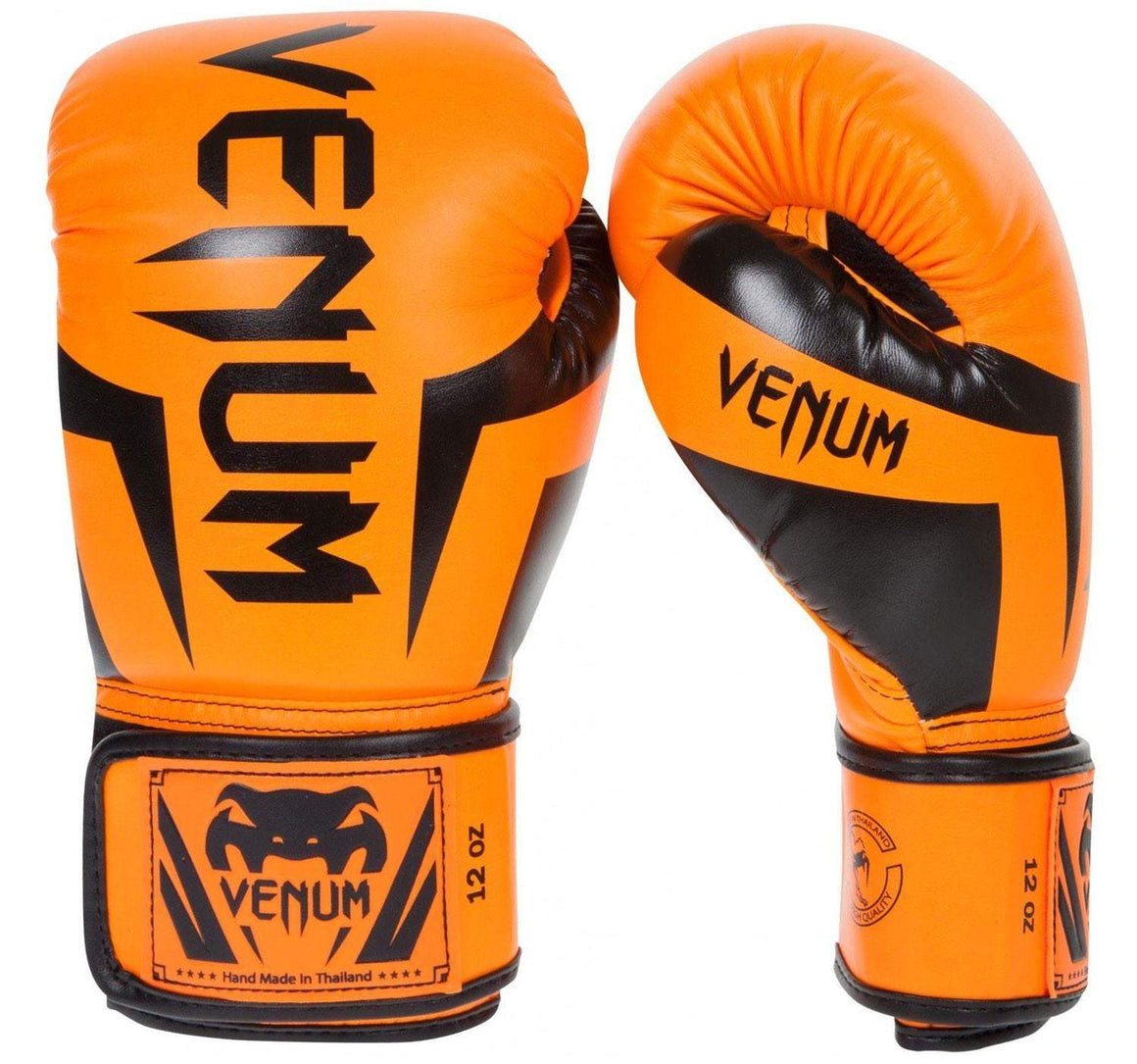 Venum Elite Boxing Gloves - Orange