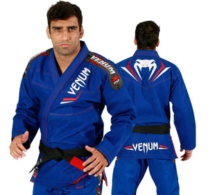 Venum Elite BJJ Gi - Royal Blue/Red