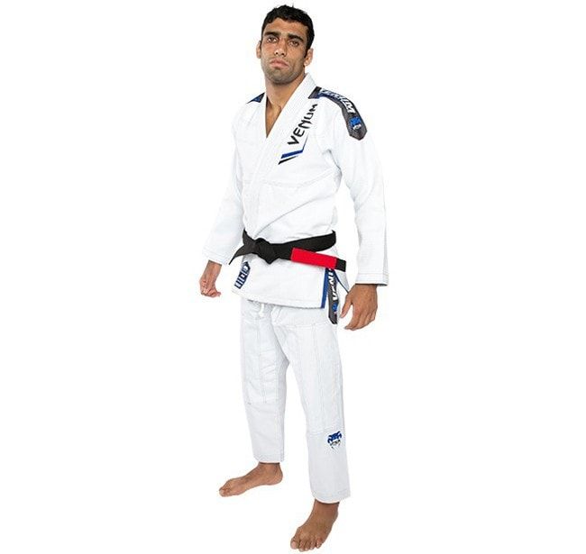Venum Elite BJJ Gi Color White Leandro Lo