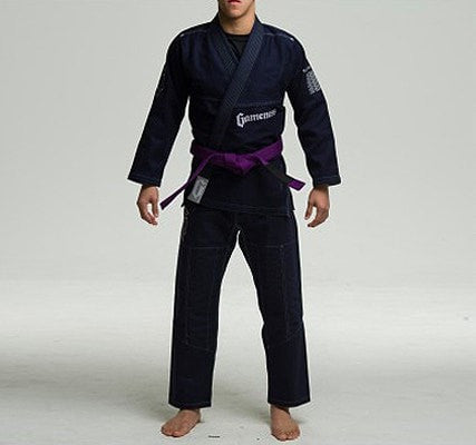 Gameness Feather Gi - Navy