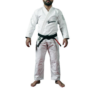 Gameness Feather Gi - White