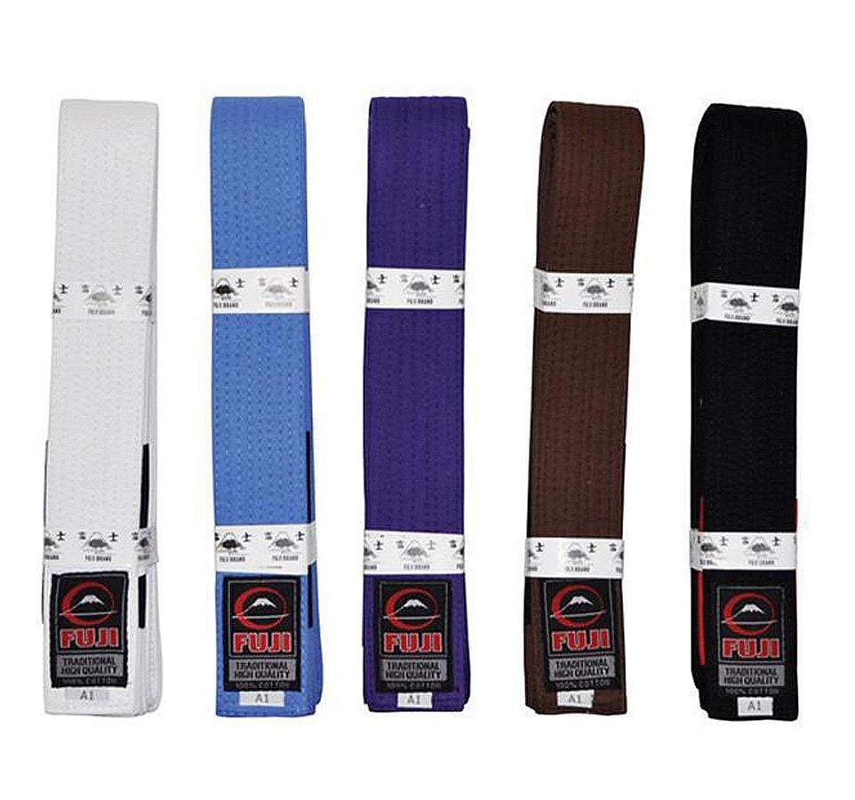 Fuji BJJ Gi Rank Belts Various Colors and Sizes