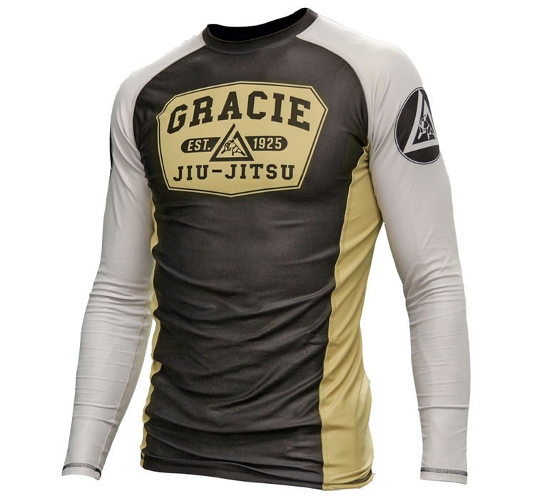 Gracie Long Sleeve Rash Guard Front View