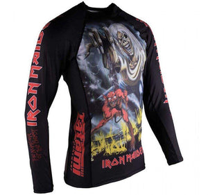 Tatami x Iron Maiden Number of the Beast Ladies Rash Guard  - Side