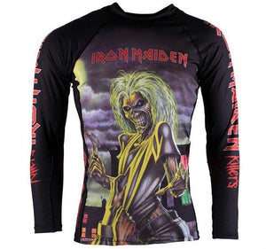 Tatami x Iron Maiden Killers Kids Rash Guard - Front