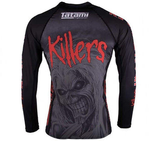 Tatami x Iron Maiden Killers Kids Rash Guard - Back