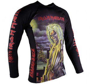 Tatami x Iron Maiden Killers Kids Rash Guard - Side